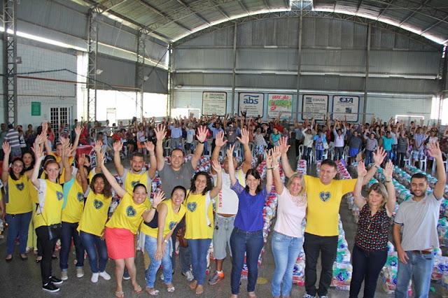 LBV e Prefeitura entregam 300 cestas de alimentos a famílias de Registro-SP