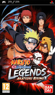Games Naruto Shippuden Legends Akatsuki Rising Iso for ppsspp