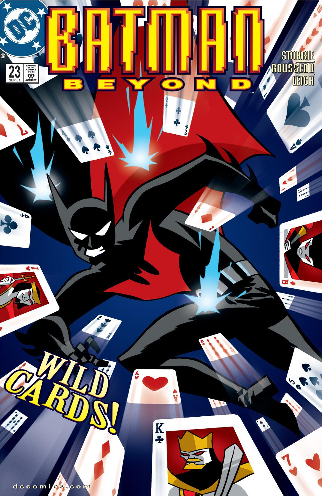 Batman Beyond [II] 23 Page 1