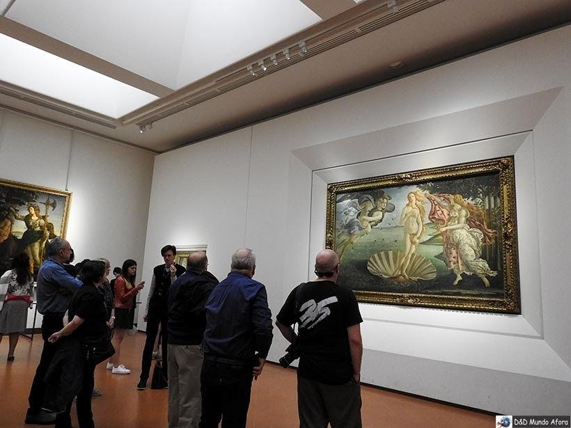 Galeria degli Uffizi - O que fazer em Florença, Itália - 40 atrativos