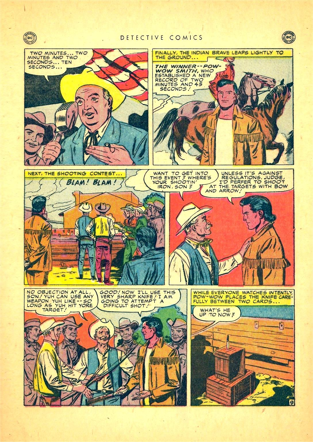Read online Detective Comics (1937) comic -  Issue #166 - 47