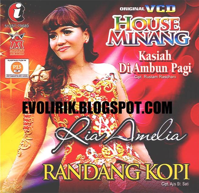 RIA AMELIA House Minang VCD 79689 front