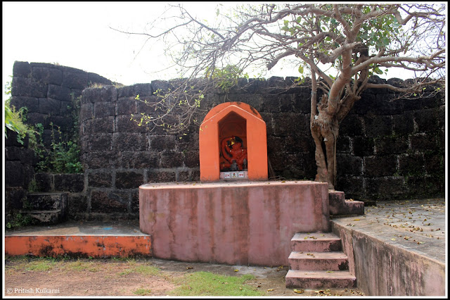 Lord Maruti Temple inside Devgad Fort