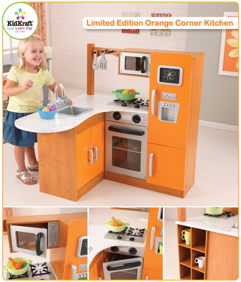 kidkraft toys & furniture: limited edition orange corner
