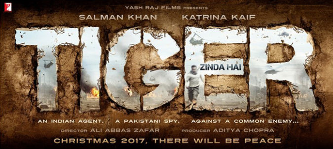 Tiger zinda hai official movie poster