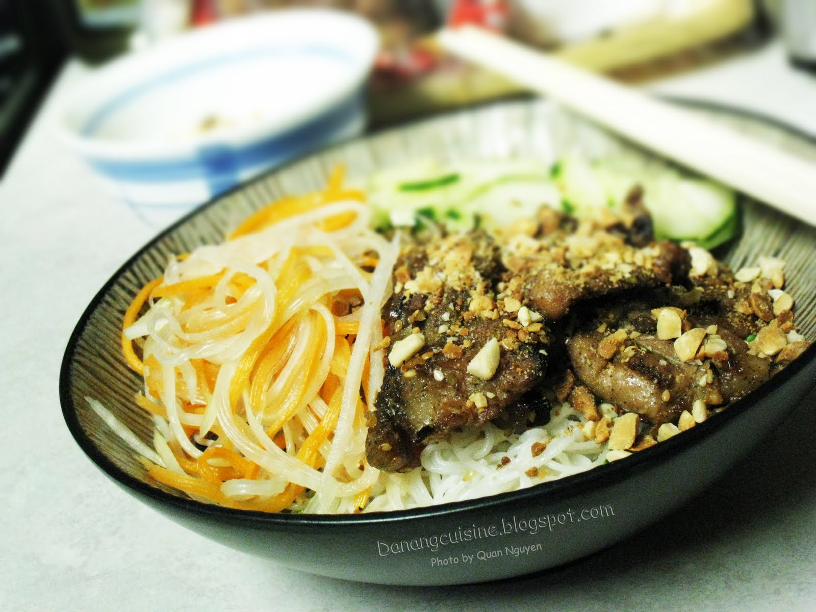 Recipe: Danang Style grilled pork noodle salad – Bun thit