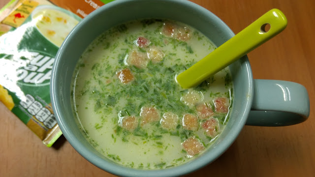 รีวิว คนอร์ ซุปมันฝรั่งเบคอนกับขนมปังกรอบ Knorr Creamy Potato & Bacon Review