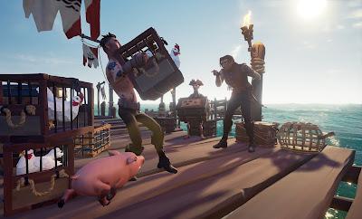 El buen diseño de juego de Sea of Thieves