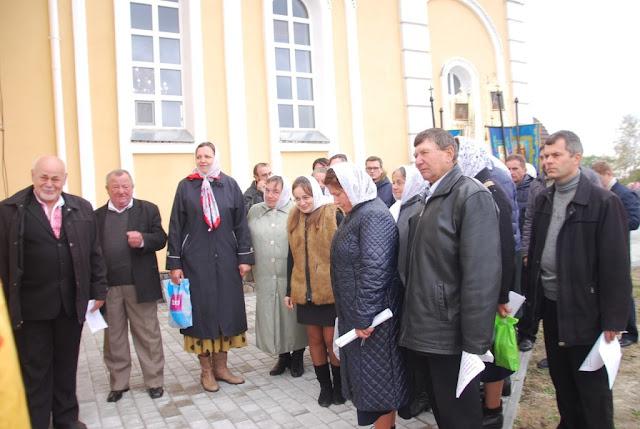 Хор храму Івана Богослова с. Борохів