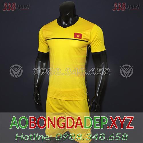Áo U23 Việt Nam 2019 Training Màu Vàng Đẹp