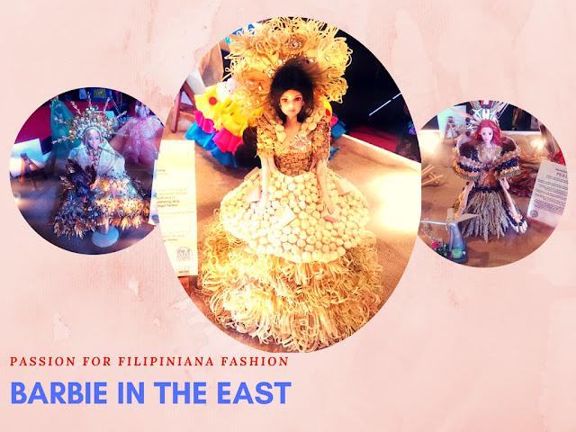 Barbie in The East Filipiniana Fashion Rizal Inter-town Winners