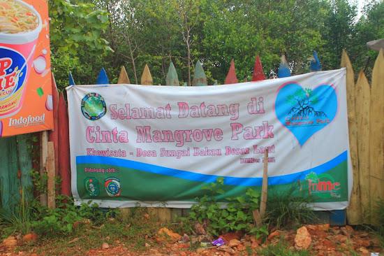 Pemandangan Mangrove Park bakau Besar - Catatan Nizwar ID
