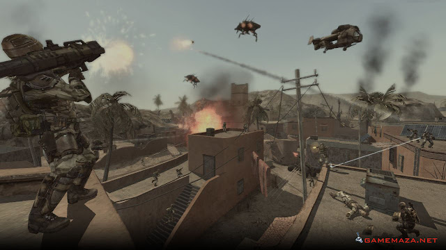 Enemy Territory Quake Wars Gameplay Screenshot 2