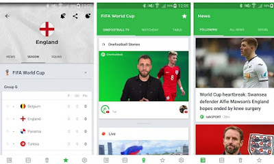 10 Android Application FIFA WORLD CUP 2018