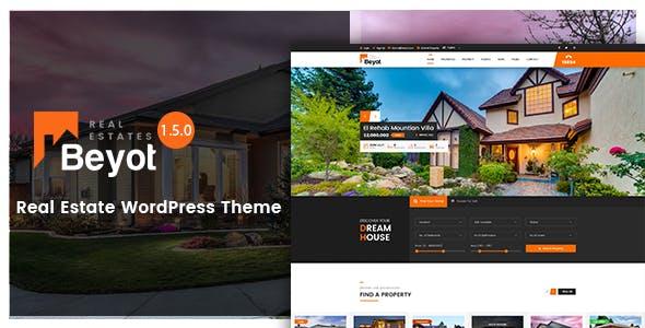 BEYOT v1.5.0 - WordPress Real Estate Theme