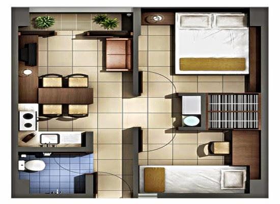 Rumah Minimalis Type 6×10