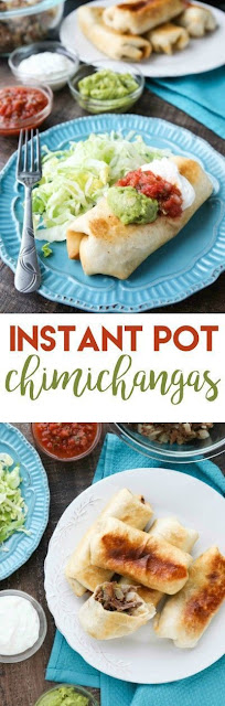 Instant Pot Chimichangas
