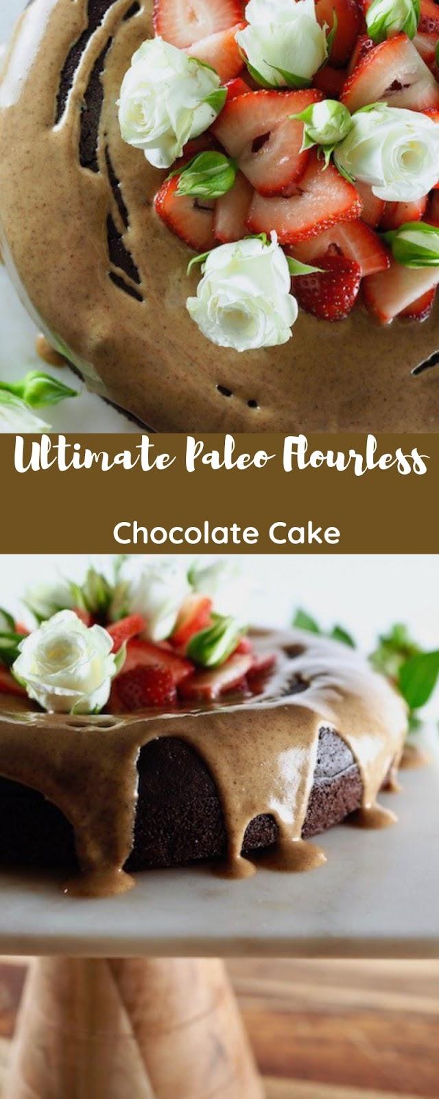 Ultimate Paleo Flourless Chocolate Cake
