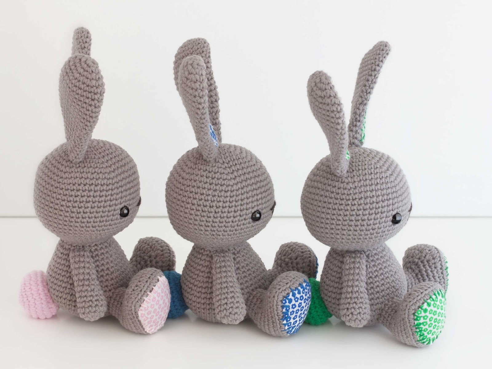 Amigurumi Conejo Paso A Paso : Amigurumis conejos amigurumis crochet osos perros conejos bahía