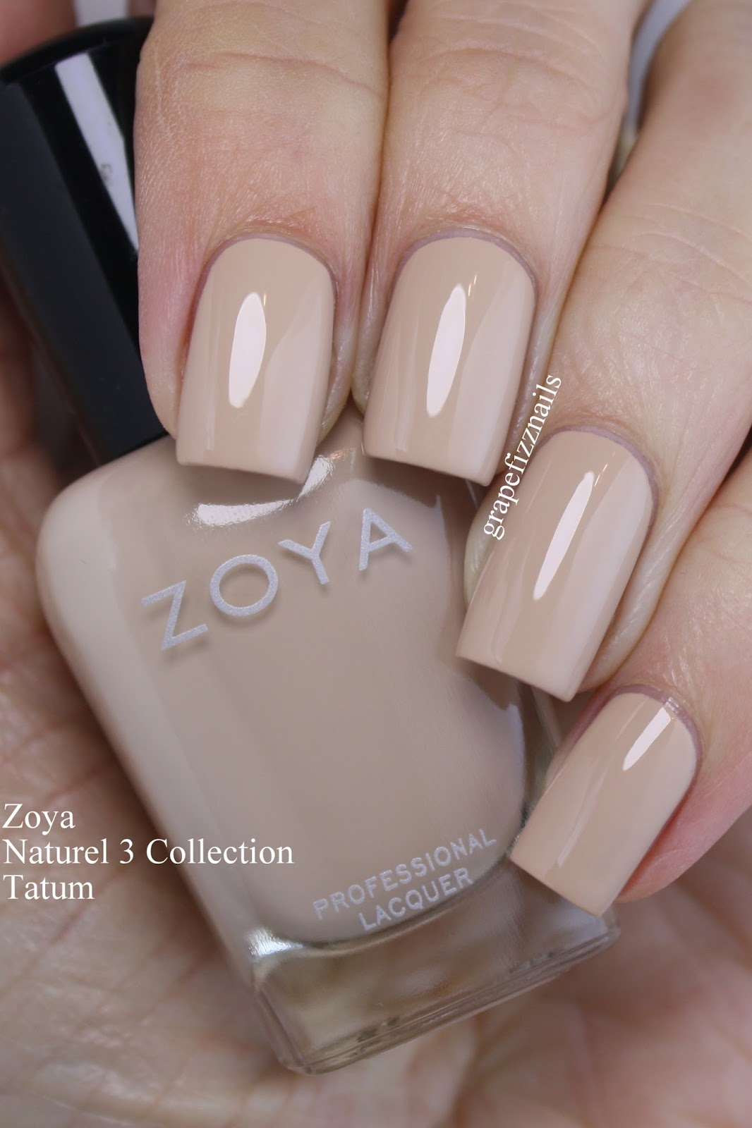 Grape Fizz Nails: Zoya Naturel 3 2017, Swatches and Review