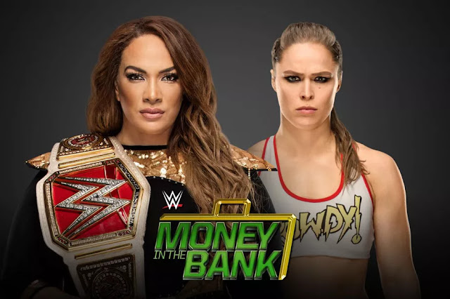 Nia Jax vs Ronda Rousey: WWE Money In The Bank 2018. StrengthFighter.com
