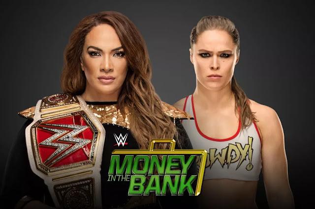 Nia Jax vs Ronda Rousey: WWE Money In The Bank 2018. StrengthFighter.com