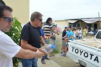 Misioneros, Andrés Drouet, Ecuador, Terremoto