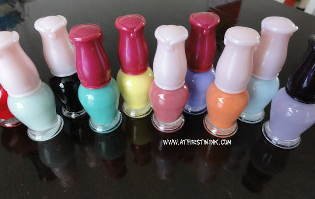 Etude House pastel nail polishes