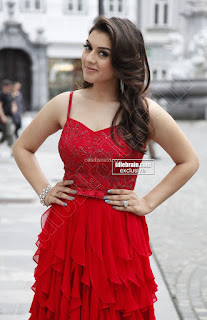 Hansika Motwani in lovely Red Mini Dress Dance Stills 09 .xyz.jpg