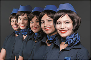 IndiGo cabin crew, new uniforms, new look.