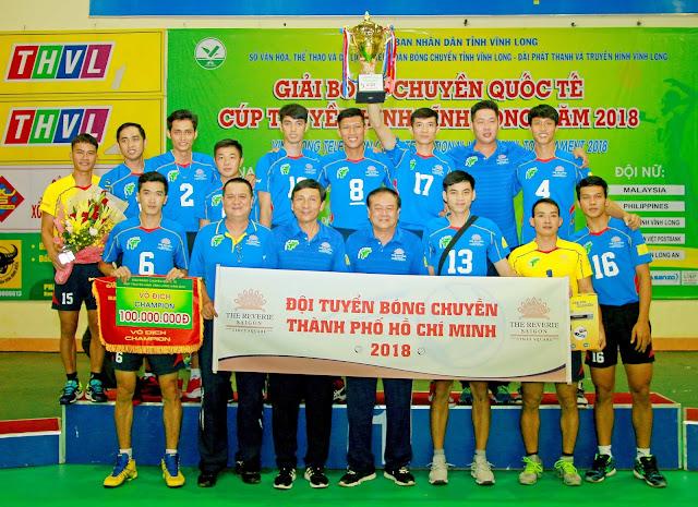 Cúp quốc tế Truyền hình Vĩnh Long 2018: Nam TPHCM lập kỷ lục đăng quang lần thứ 4 liên tục