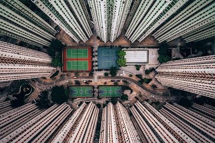 Hong Kong aus einem besonderen Blickwinkel | Die dystopisch ästhetisch anmutenden Fotos von Gary Cummins