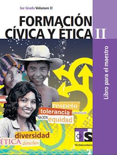 Libro de TelesecundariaFormación Cívica y ÉticaIITercer gradoVolumen IILibro para el Maestro2016-2017