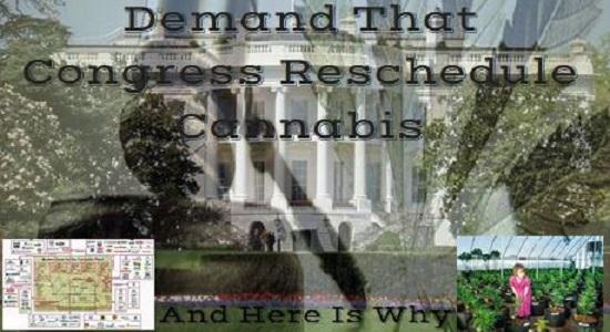 Demand That Congress Reschedule Cannabis