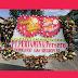 KARANGAN BUNGA PAPAN HAPPY WEDDING SURABAYA TERBAIK,Makutoromo florist