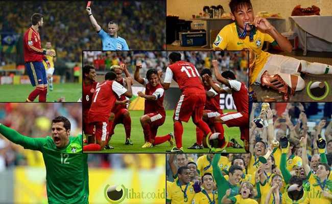 9 Pemain Sepakbola Pemenang dan Pecundang di Piala Konfederasi 2013