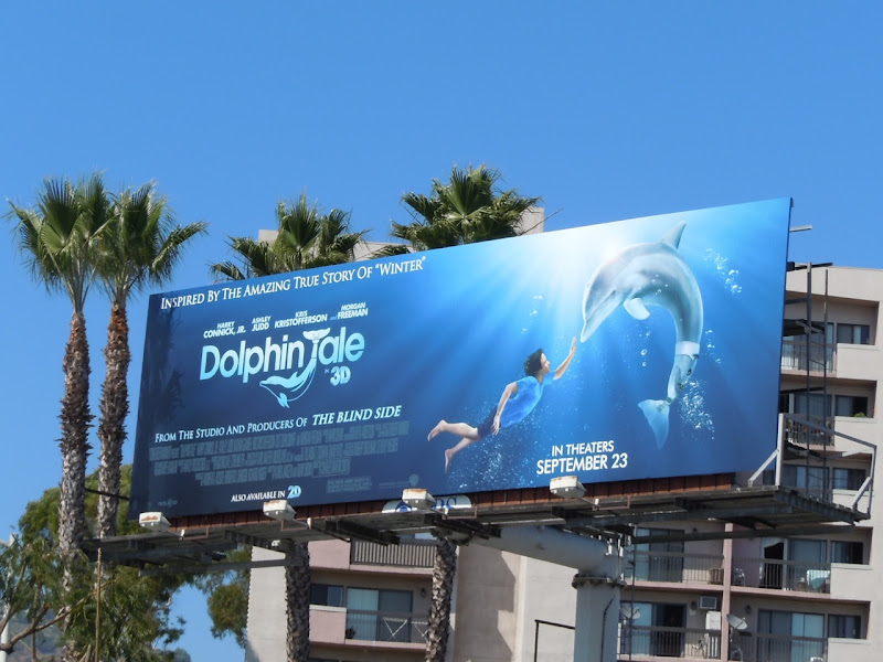 Dolphin Tale movie billboard
