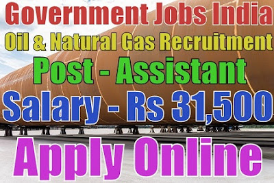 Oil and Natural Gas Corporation Limited Recruitment