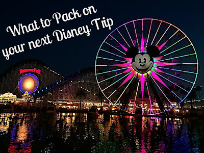 What to Pack on your next Disney Trip