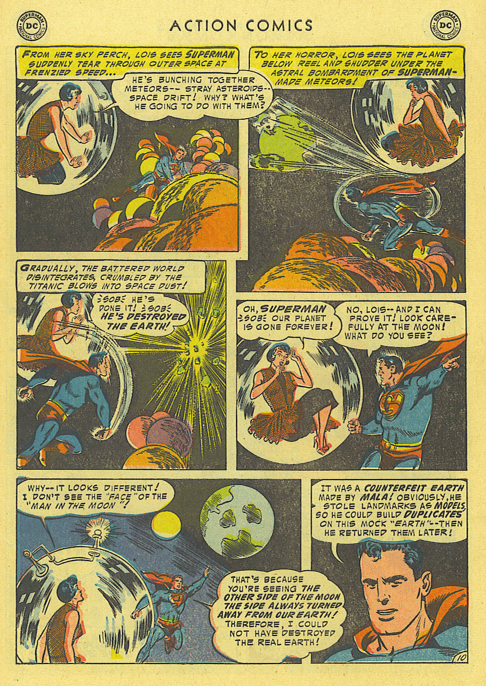 Read online Action Comics (1938) comic -  Issue #194 - 11