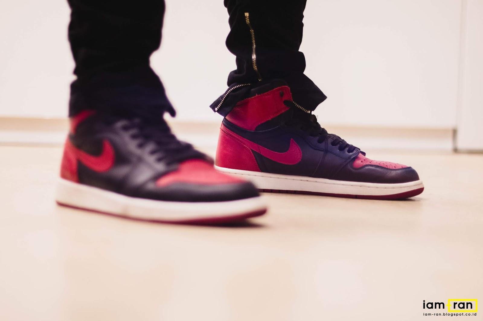 5cec80249f0 IAM-RAN: ON FEET : Rama Kiram - Nike Air Jordan 1