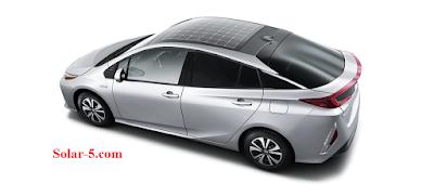 Toyota Prius Solarauto lange Akkulaufzeit