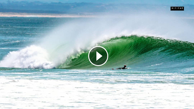 100 Per Cent Pure Shred in Pumping Hossegor