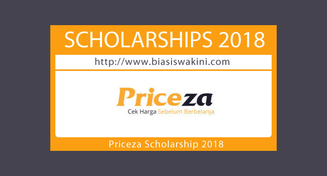 Priceza Scholarship 2018