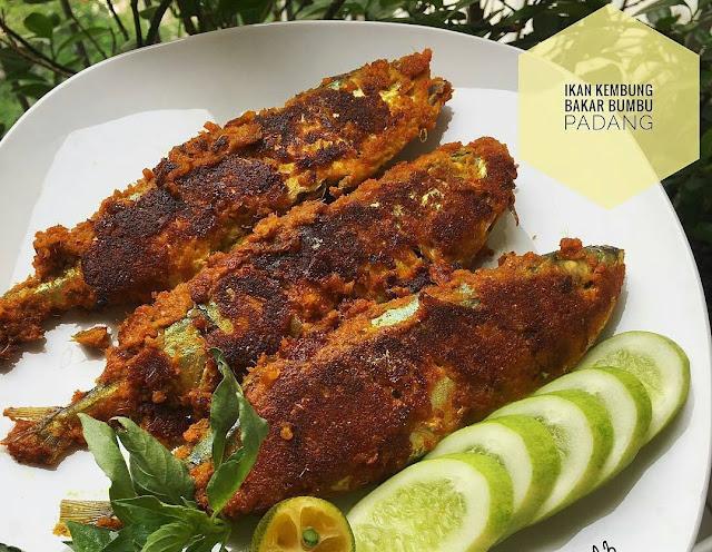 masakan padang , bumbu padang, ikan kembung bakar padang, masakan indonesia