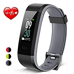 Heetik Smart Activity Wristband - Waterproof Heart Rate Monitor Fitness Tracker