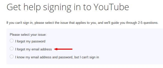 I can't sign in to my YouTube channel or Blogger blog! How