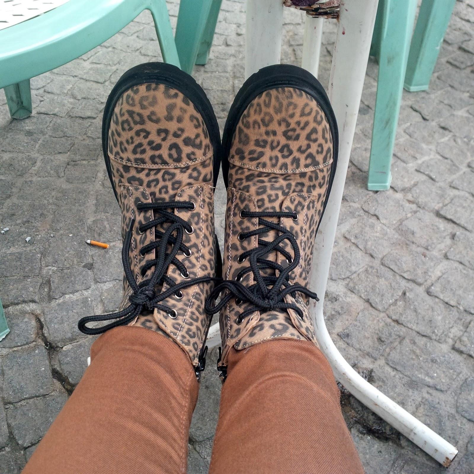 Dorothy Perkins Petite Jeans, Leopard Print DM's | Petite Silver Vixen