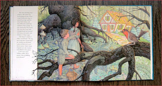 Hansel and Gretel in the forrest