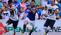 Cruz Azul vs Pumas en VIVO